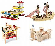 Imaginative Wooden Play Sets