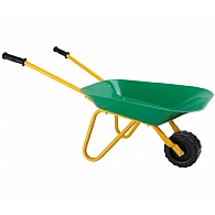 Kids Green Wheelbarrow