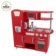 Childrens Vintage Kitchen Playset
