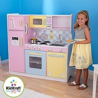 Large Pastel Kitchen Set