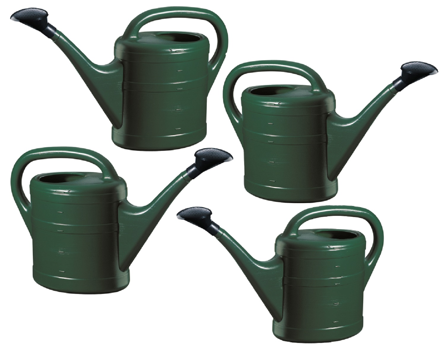 Set of four watering cans - Sprinkling cans ...