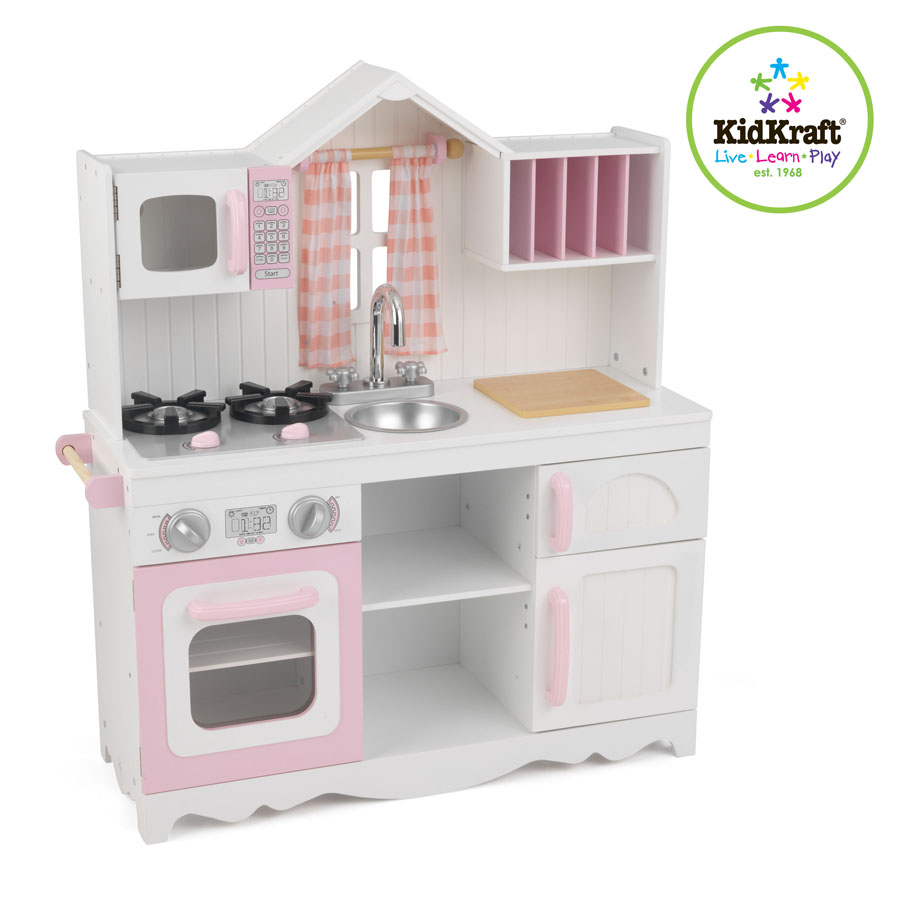 Childrens kitchen sets kitchen designer for Cuisine kidkraft