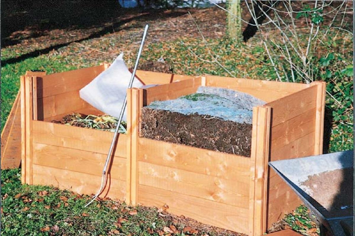 Контейнер для компоста сделать своими руками