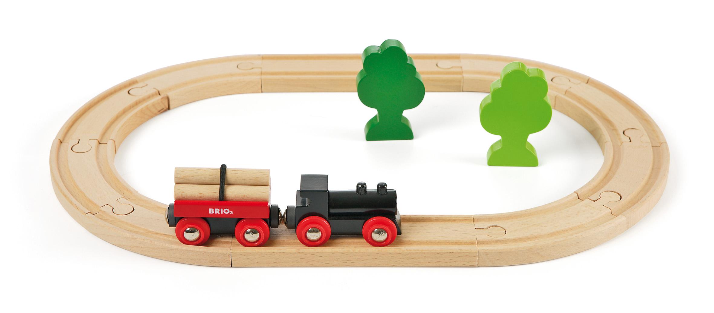 ... Forest Train Starter Set, Brio Wooden Train Set, Childrens train set