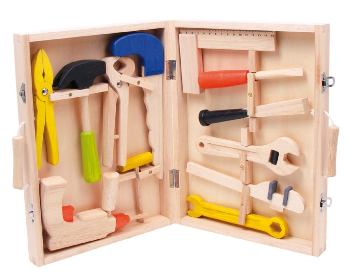 children 39 s first wooden tools toolbox children 39 s tool