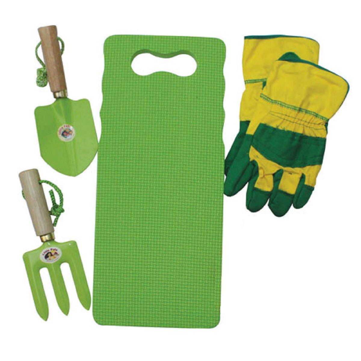 Childrens Green Activity Gardening Kit Garden Tools For