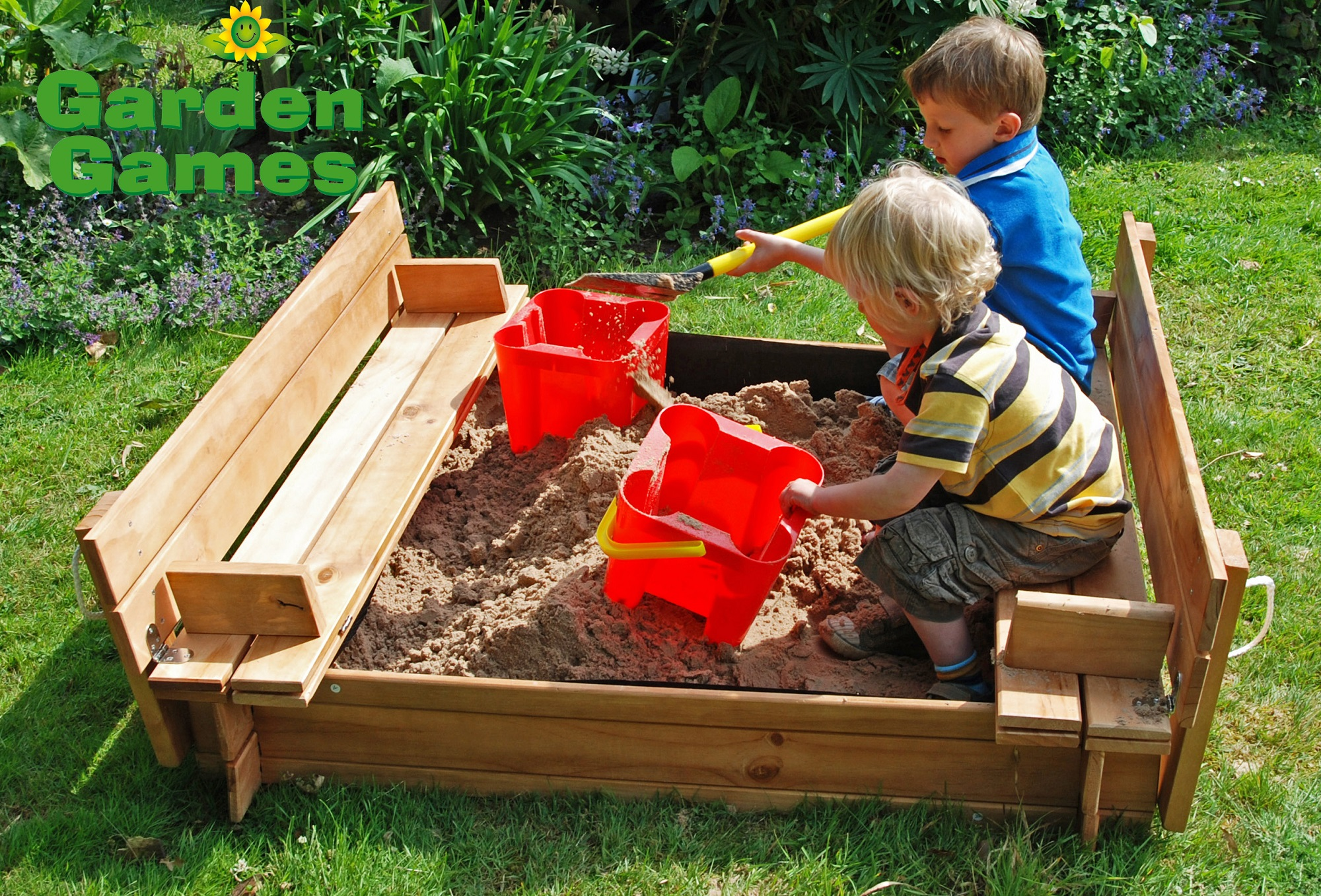 Wooden Square Sand Pit