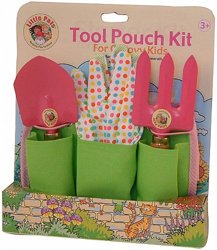 Gardening Tools For Children. A handy set of garden tools