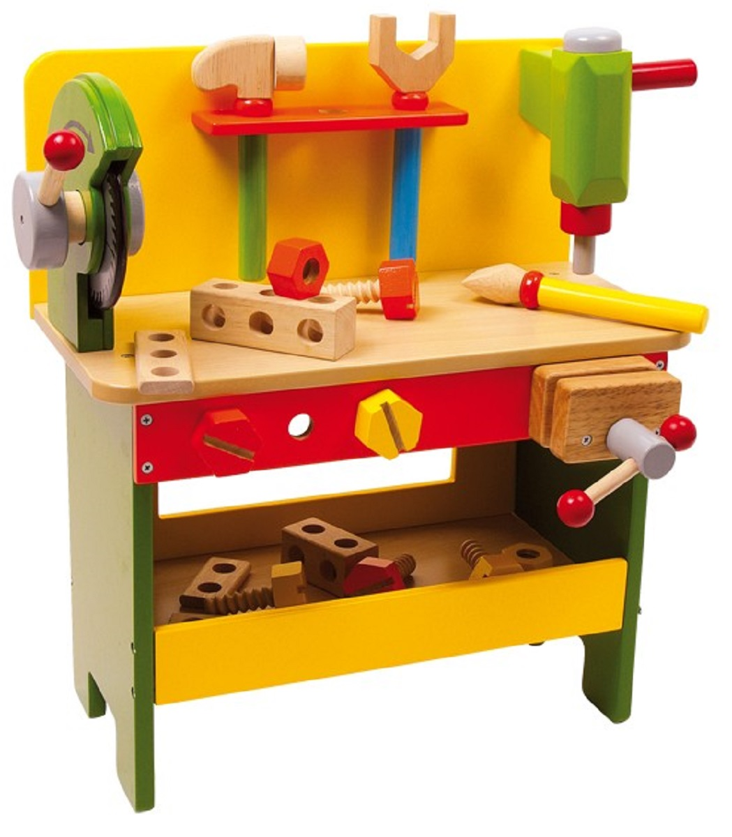 Children 39 S Power Tools Wooden Workbench