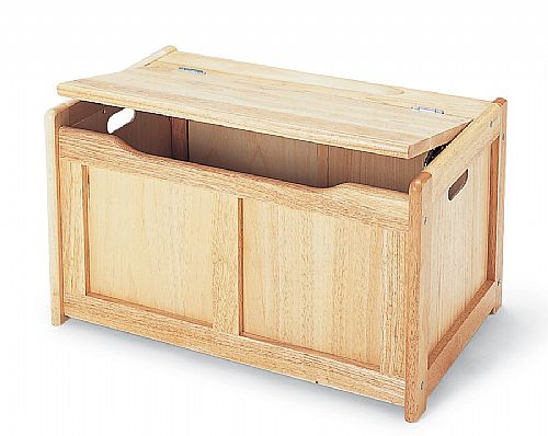 Woodworking Plan: plans for building toy box