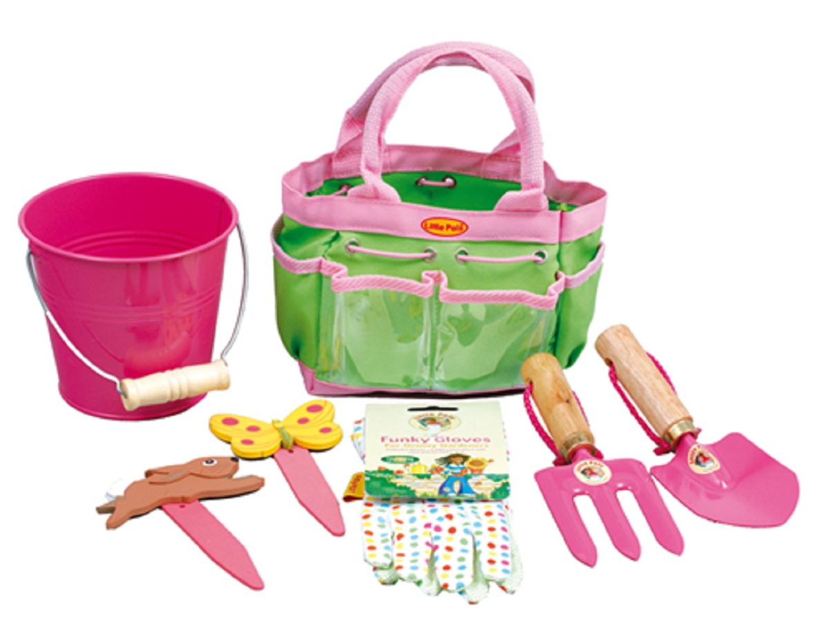 Garden tools for child childrens gifts uk for Childrens gardening tools