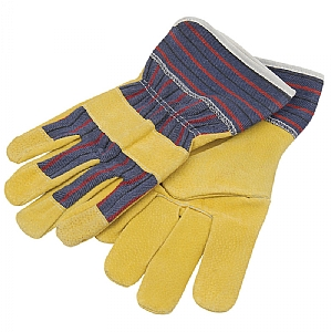Green Kids Gardening Gloves