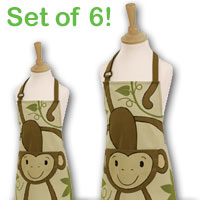 Cheeky Monkey Aprons