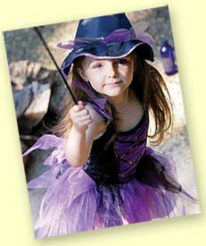 Halloween Costumes Available from Spotty Green Frog