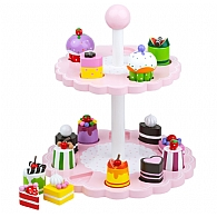 High Tea Wooden Shape Matching