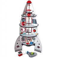 Four Stage Spaceship & Rocket