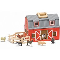 Fold & Go Barn with Animals