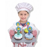 Bake & Decorate Wooden Cupcake Set