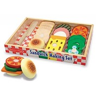 Sandwich Making Wooden Play Set