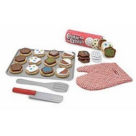 Slice and Bake Wooden Cookie Play Set
