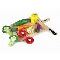 Wooden Cutting Vegetables Set