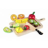 Wooden Cutting Fruits Set