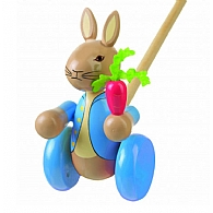 Push Along Wooden Peter Rabbit
