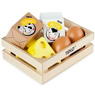 Wooden Eggs and Dairy