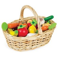 Fruits and Vegetables Basket (24-Pieces)