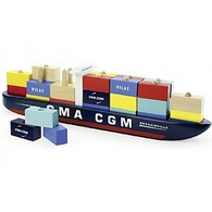 Stacking Container Ship