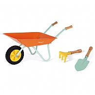 Kids Pink Wheelbarrow