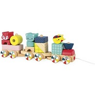 Pull and Stack Baby Forest Train