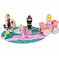 Wooden Mini Playset - Princesses