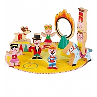 Wooden Mini Playset - Circus