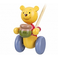 Push Along Winnie The Pooh (Gift Boxed)