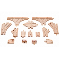 Advanced Wooden Train Expansion Pack