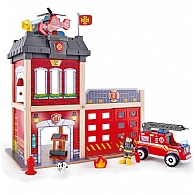 Hape Fire Station Set