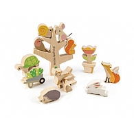 Stacking Garden Friends Puzzle