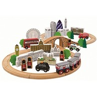 City of London Wooden Train Set