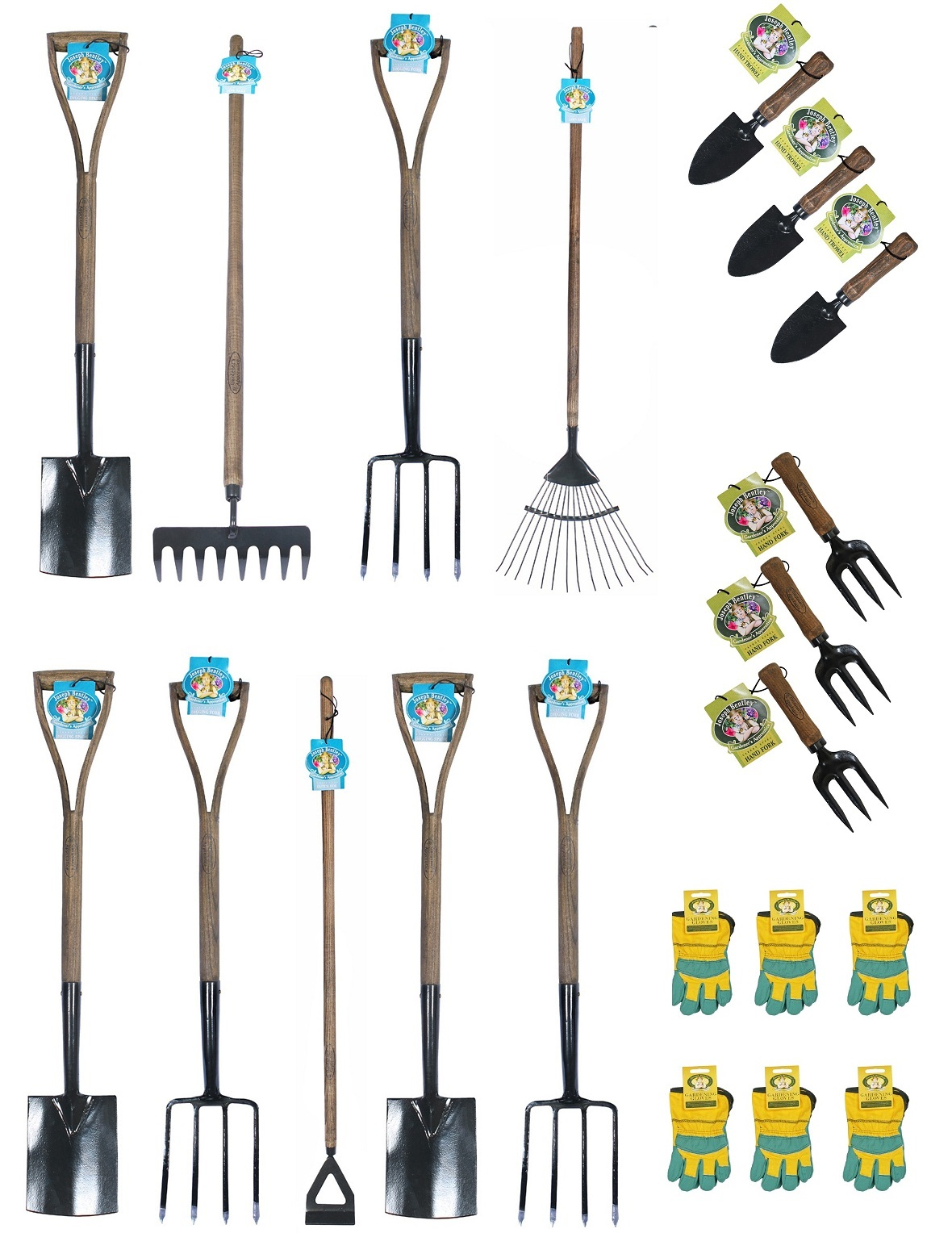 School gardening tools for older children set 2 for Childrens gardening tools