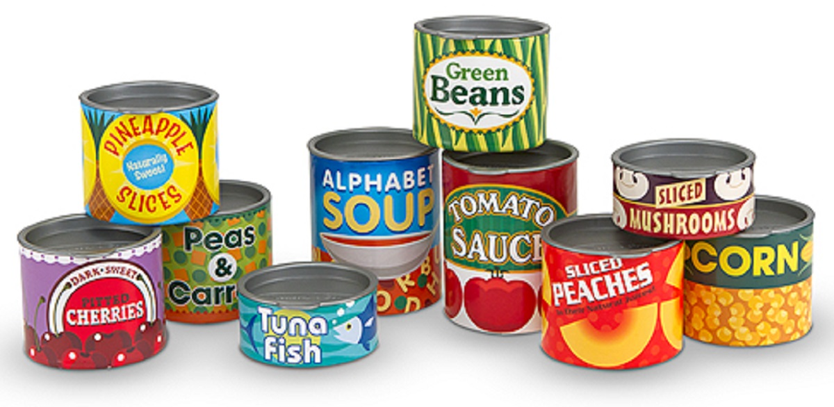 Cans For Food Drive
