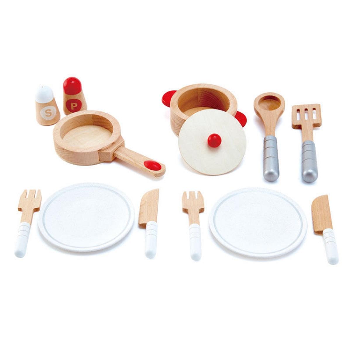 gourmet wooden kitchen starter set