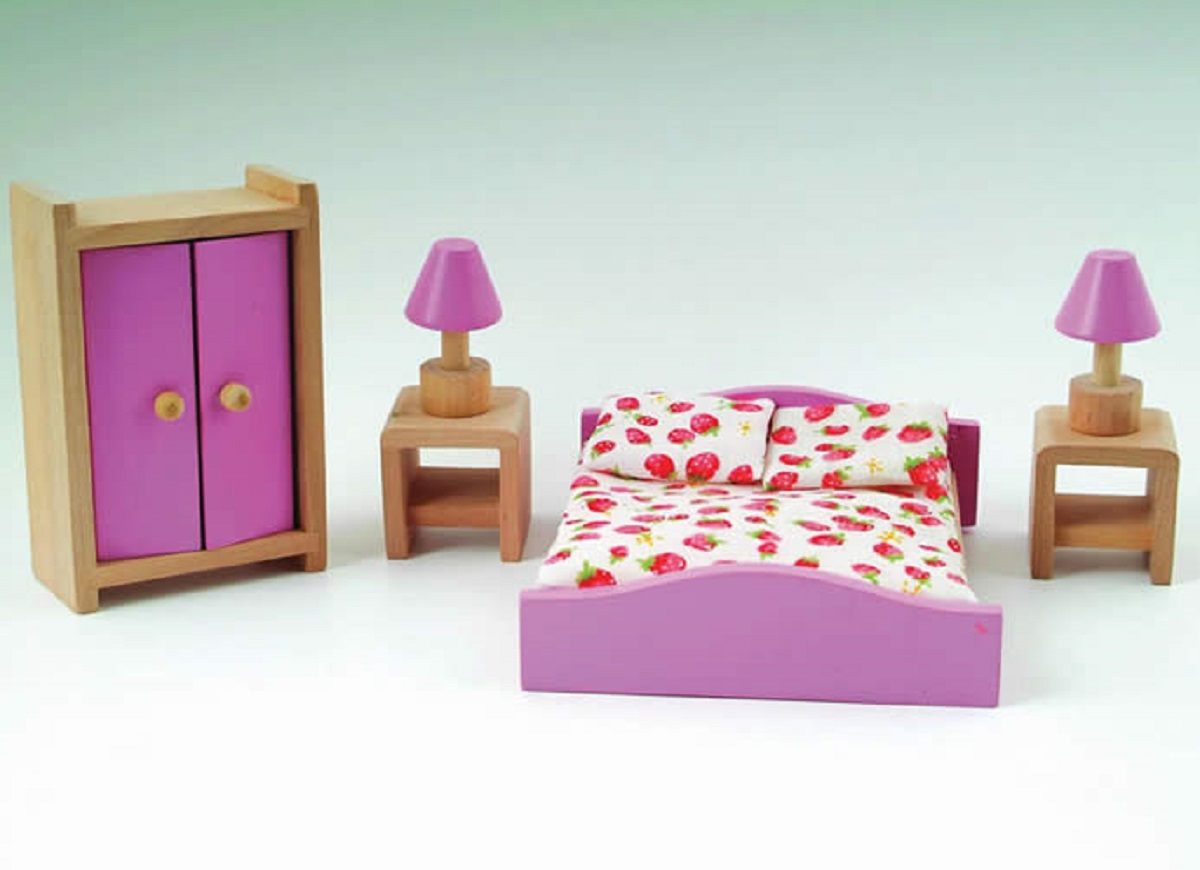 Puppenstuben & -häuser Dolls house bedroom set