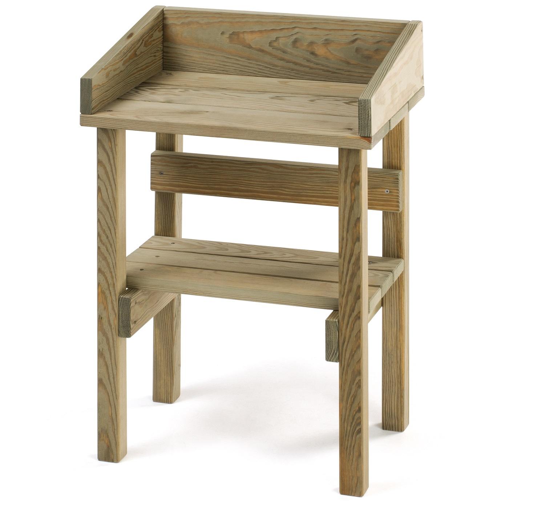 Wondrous Childrens Wooden Potting Bench Interior Design Ideas Grebswwsoteloinfo