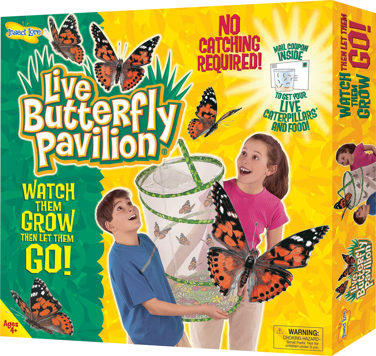 This butterfly kit now includes a deluxe Chrysalis station and Insect Lore butterfly feeder! during this time of year, it is important to monitor weather conditions in your area.