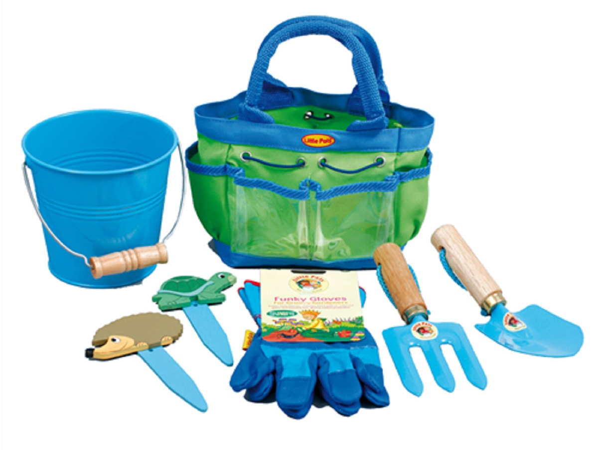 Kids garden tool kit childrens online gifts for Gardening tools toddlers