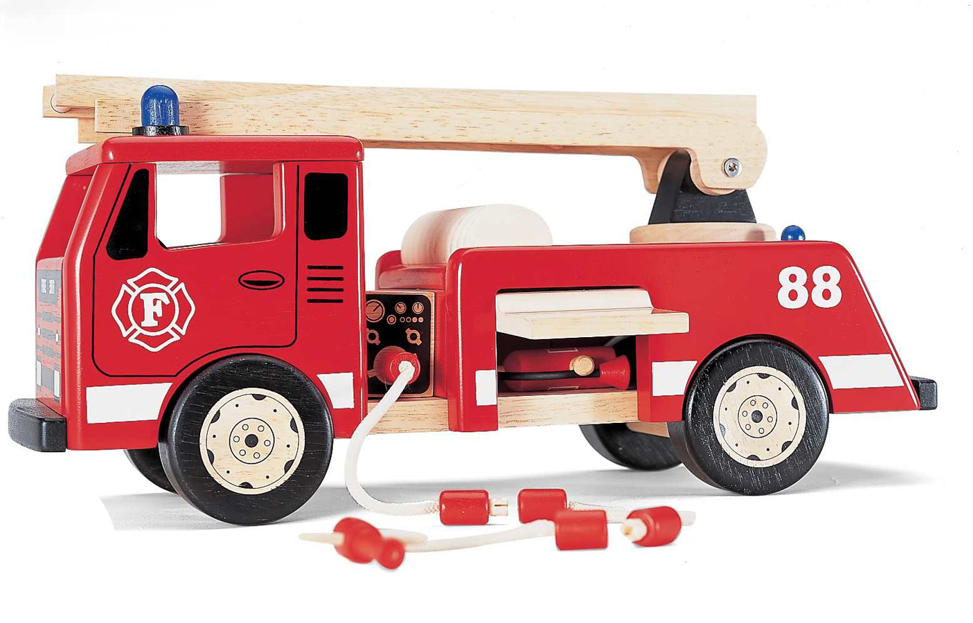 Wooden Fire Engine Toy  sc 1 st  Spotty Green Frog & Toy Fire Engine Wooden Fire Truck Model Fire Engine