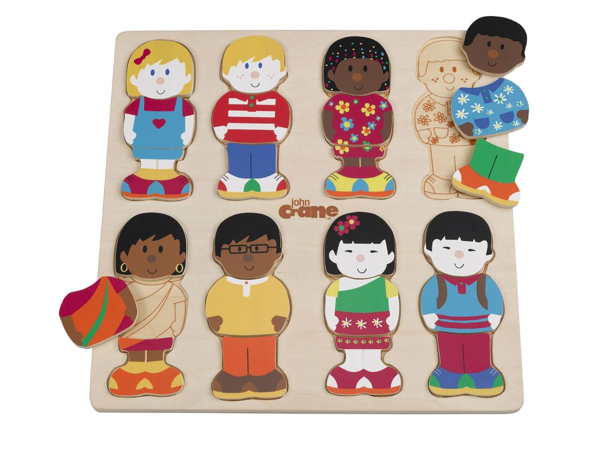 Uncategorized Child Puzzles childrens wooden puzzle john crane little friends wood puzzle