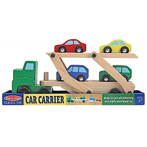 Car Transporter Wooden Play Set