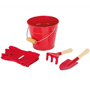Childrens Pink Bucket and Trowel Kit